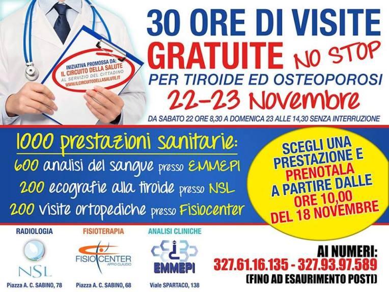 Ecografie gratuite Tiroide Roma