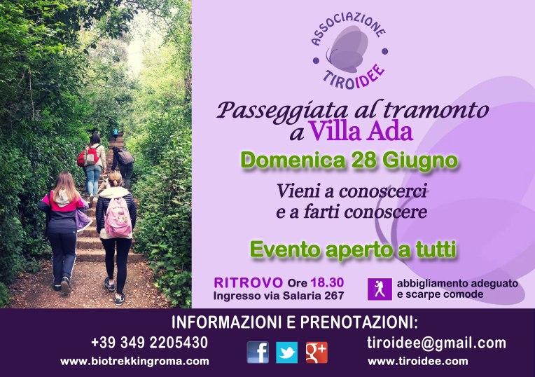 Tiroidee a Villa Ada