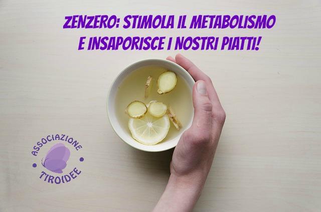 Zenzero Stimola Il Metabolismo E Insaporisce I Nostri Piatti