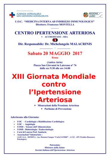 LOCANDINA XIII Giornata Ipertensione -Ass. TIROIDE (1)-1